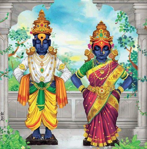 Vithala-Rukamini, Pandharpur Wari, Devashayani Ashadhi Ekadashi